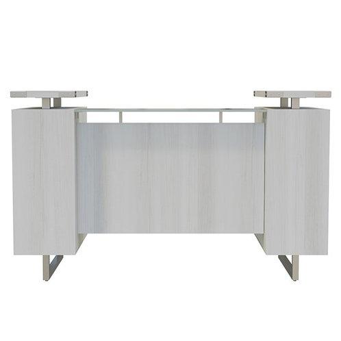 Mirella™ Reception Desk with Glass Countertop