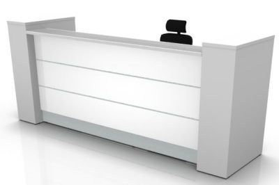 VALDE RECEPTION DESK - STRAIGHT VERSION BY MDD