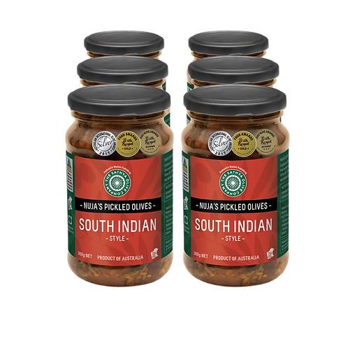 Nuja's South Indian Style Pickled Olives PACK