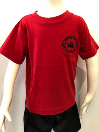 Wimborne St Giles First School PE T-Shirt