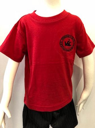 Wimborne St Giles First School PE T-Shirt