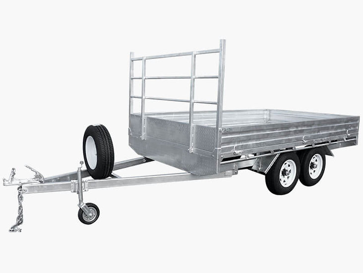 12×7 Flat Top / Flat Bed Trailer - 3500KG ATM