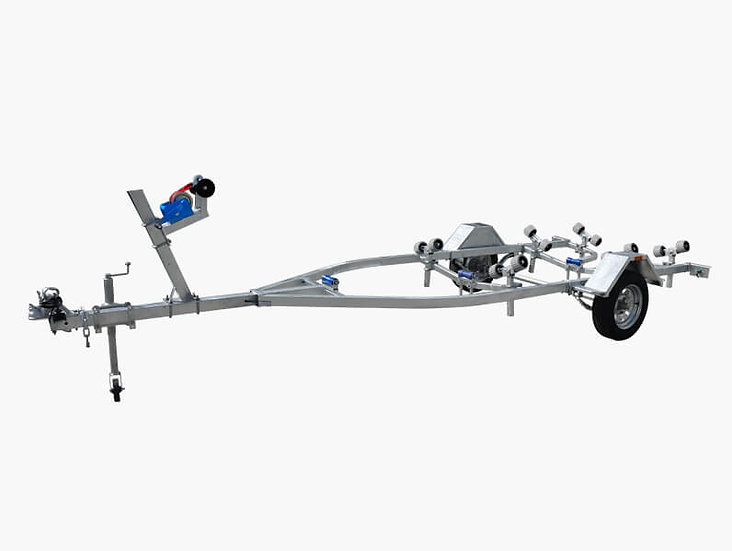 4900 Boat Trailer (Wobble Rollers or Skid Type) - 750KG ATM
