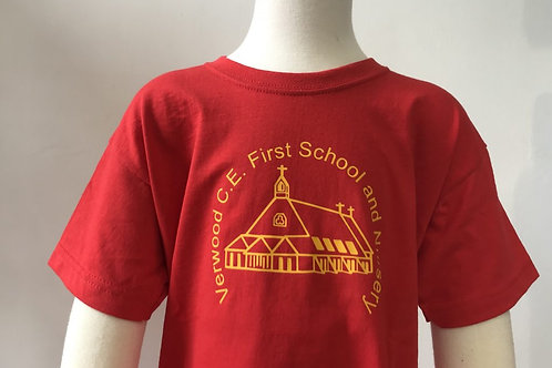 Verwood CE First School PE T-Shirt