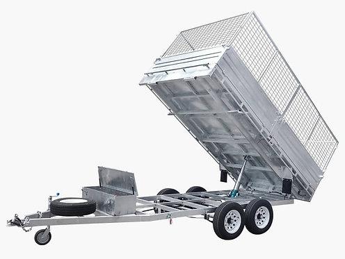 12×7 Flat Top Hydraulic Tipper Trailer
