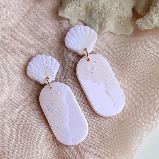 Seashell Opal Pill Dangle