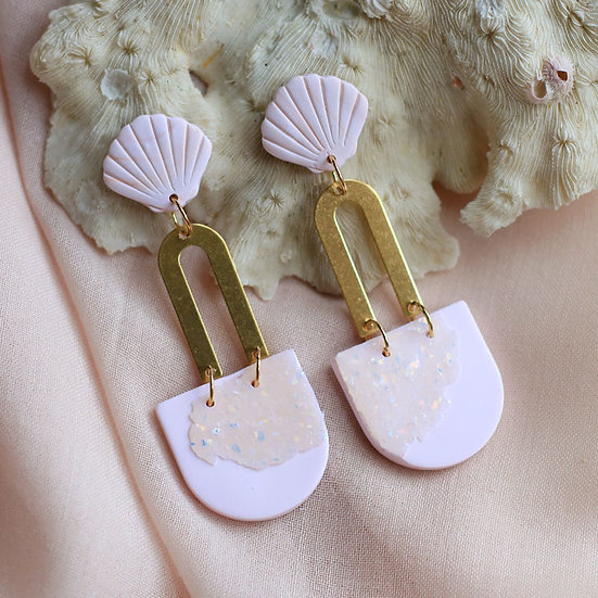 Seashell Opal Cece Dangle