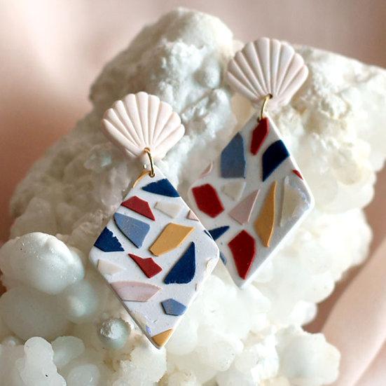 Sea Glass Rhombus