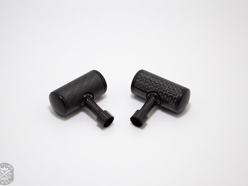 Carbon Fibre Custom Handle Knobs (XTD)