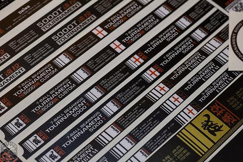 Daiwa Spool Wrap Stickers