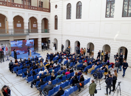 Tbilisi City Assembly Marks 75th Anniversary of Holocaust Victims.