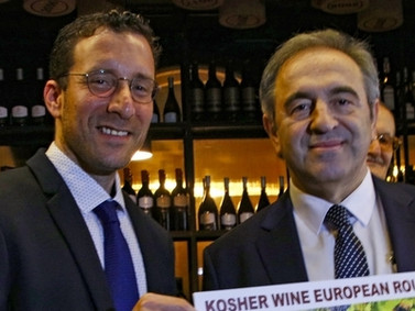 The first Georgian Kosher Wine - another step to support tourism and bring cultures closer together