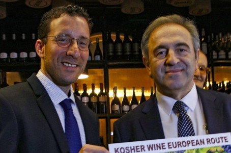 The first Georgian Kosher wine -another step to support tourism and bring cultures closer together