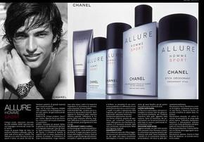 Chanel Magazine Spread