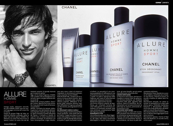 Chanel Magazine Spread