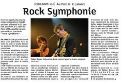 Rock Symphonique Chloe Hernandez