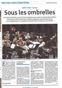 Orchestre Saint Louis 3 frontières