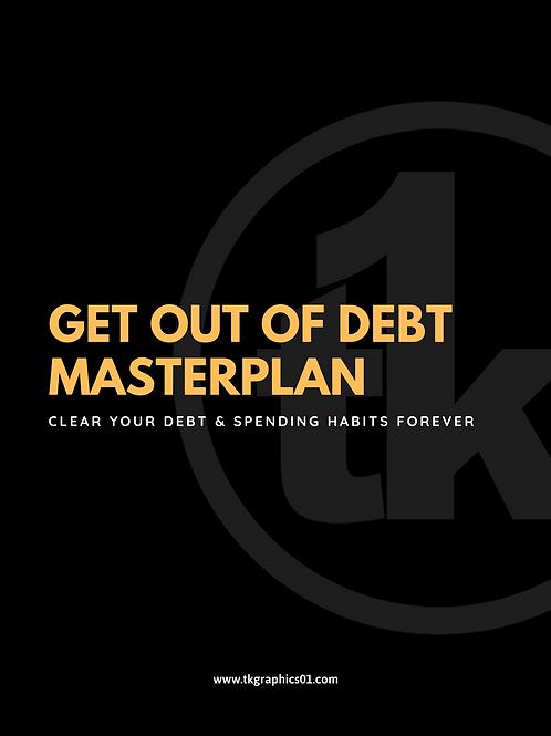 GET OUT OF DEBT MASTERPLAN (Worksheet)