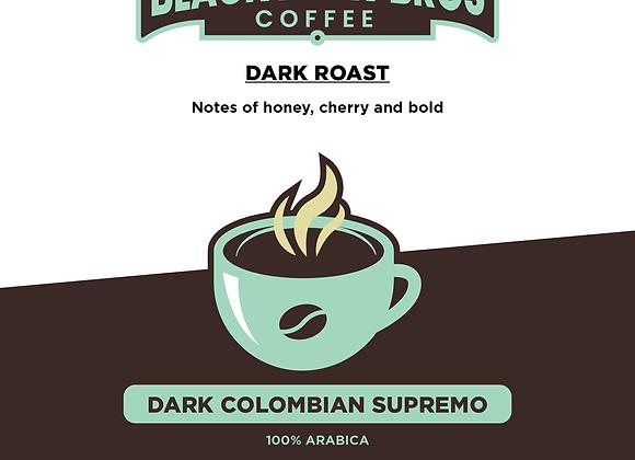 16 oz Dark Roast Colombian Supremo