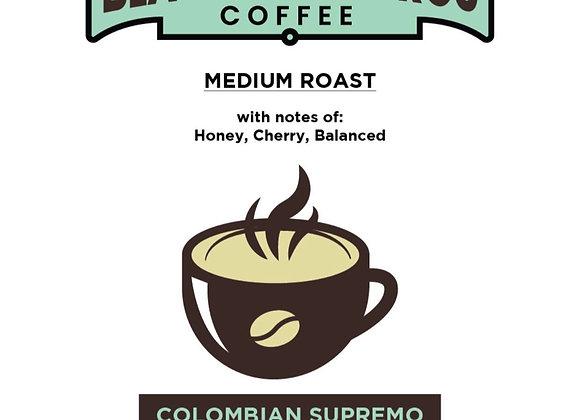 (3) 12 oz Medium Roast  Colombian Supremo Coffee