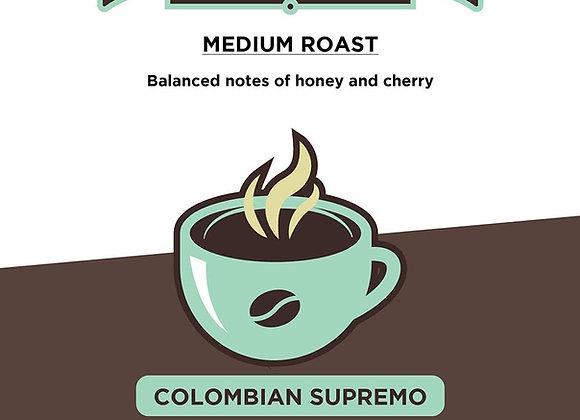 (3 ) 16oz  Colombian Supremo Coffee