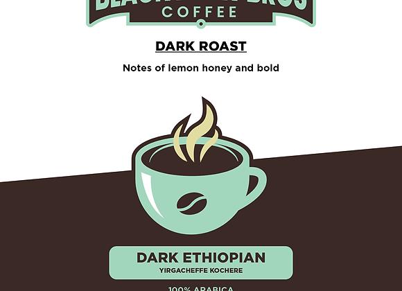 16oz Dark Roast Ethiopian Yirgacheffe Kochere Coffee