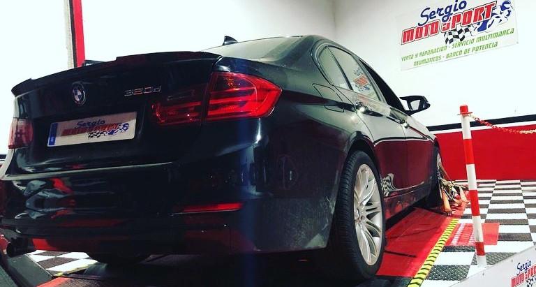 BMW F30, reprogramacion electronica