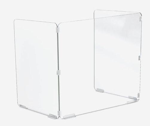 MooreCo Trifold Acrylic Desktop Screen
