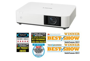 Sony VPLPHZ10  5,000 lumens WUXGA laser light source projector