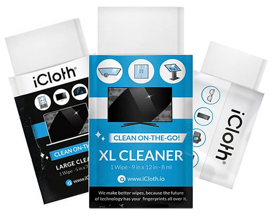 iCloth Lens and Screen Cleaner Wet Wipes