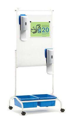 Copernicus Deluxe Chart Stand Sanitizer Station