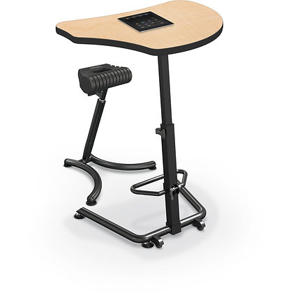 MooreCo Up-Rite Harmony - Height Adjustable Sit and Stand Desk