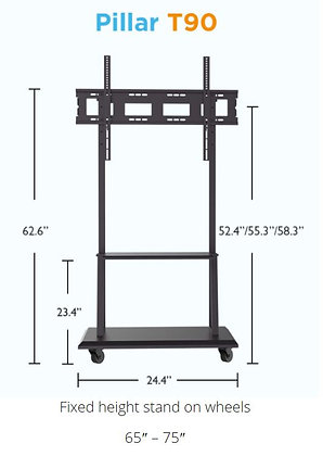 HoverCam Pillar T90 IFP Mobile Stand