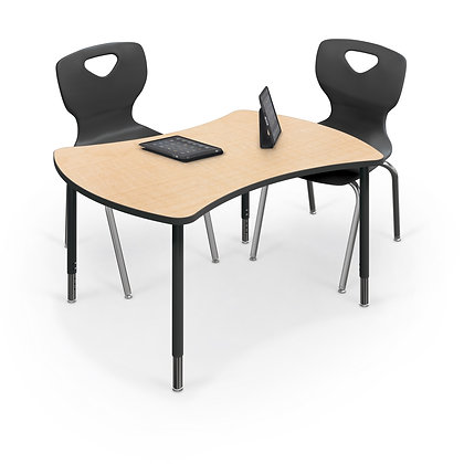 MooreCo Quad Configurable Desk & Table System