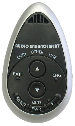 Audio Enhancement Infrared Teardrop Microphone