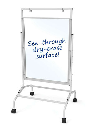 Copernicus Clear Dry-Erase Single Room Divider