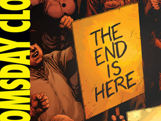 DC's Doomsday Clock Artwork Revealed