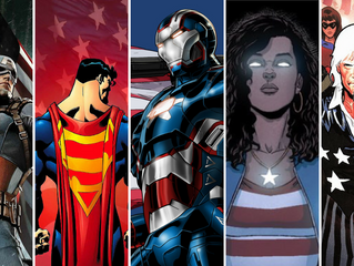 Top 5 Most Patriotic Superheroes