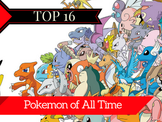 The Top 16 Best Pokemon of All Time