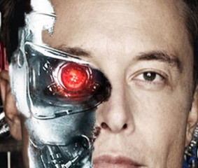 Elon Musk Welcomes a Cyborg Future