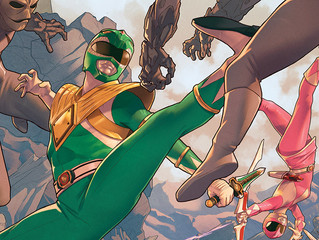 Comic Book Ranger New to Power Ranger Canon