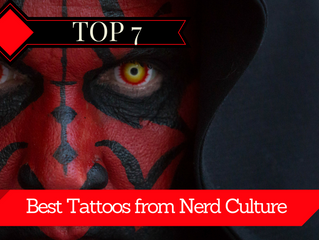 The 7 Best Tattoos from Nerd Culture