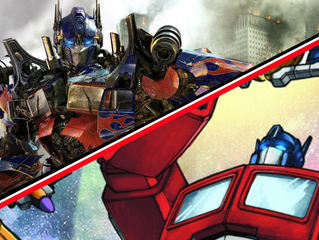 Comparing Transformers 1986 Classic and 2007 Film