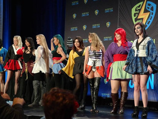 The Deadly Zizzle: Silicone Valley Comic Con Fashion Show
