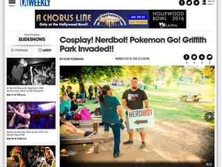 Nerdbot on LA Weekly!
