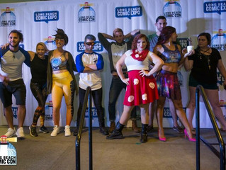 The Deadly Zizzle: Long Beach Comic Con Fashion Show Review