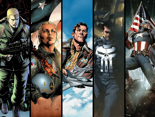 5 Favorite Comic Book Characters in the Military