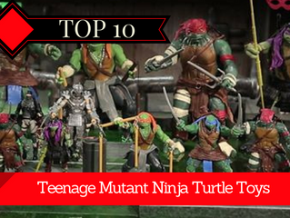 The 10 Best TMNT Toys from Childhood
