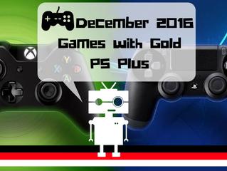 December Free Games for Members