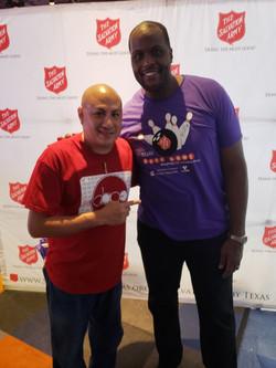San Antonio Spurs - Malik Rose & DJ Quic